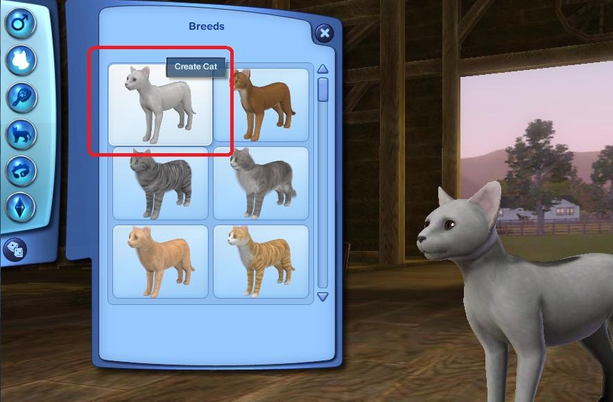 sims 4 pets how to create a pet