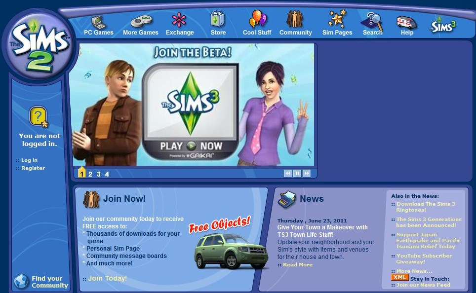 Sims 2 Website Back in Business! | SimsVIP