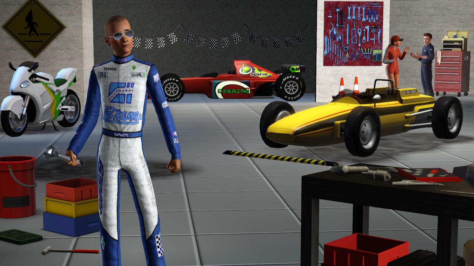Sims 3 fast lane stuff (pc/mac) pc gaming electronic software.