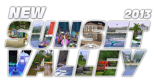 The New Sunset Valley by SimFans de | SimsVIP