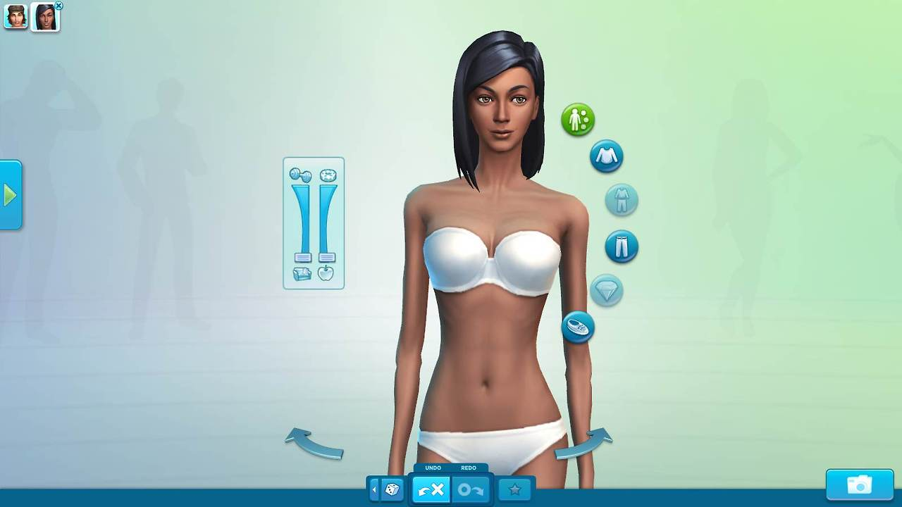 Sims 4 Body The Sims 4 Body Comparison Cas Screens Simsvip