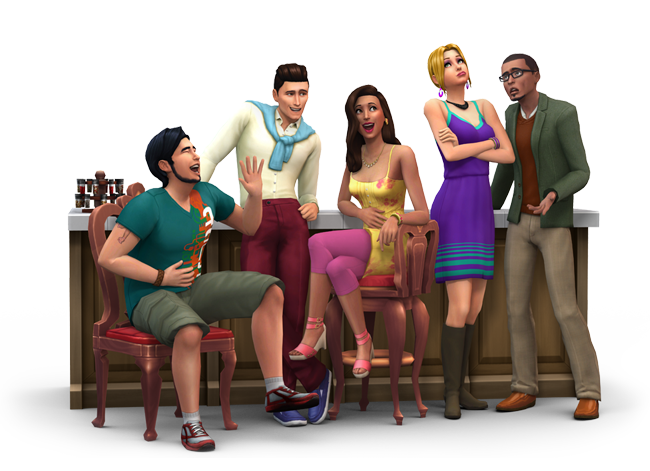 Sims  Roomies Original House