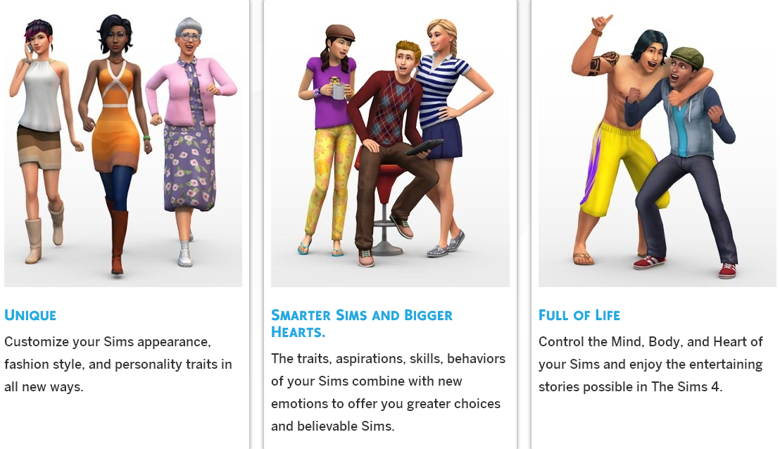 new sims