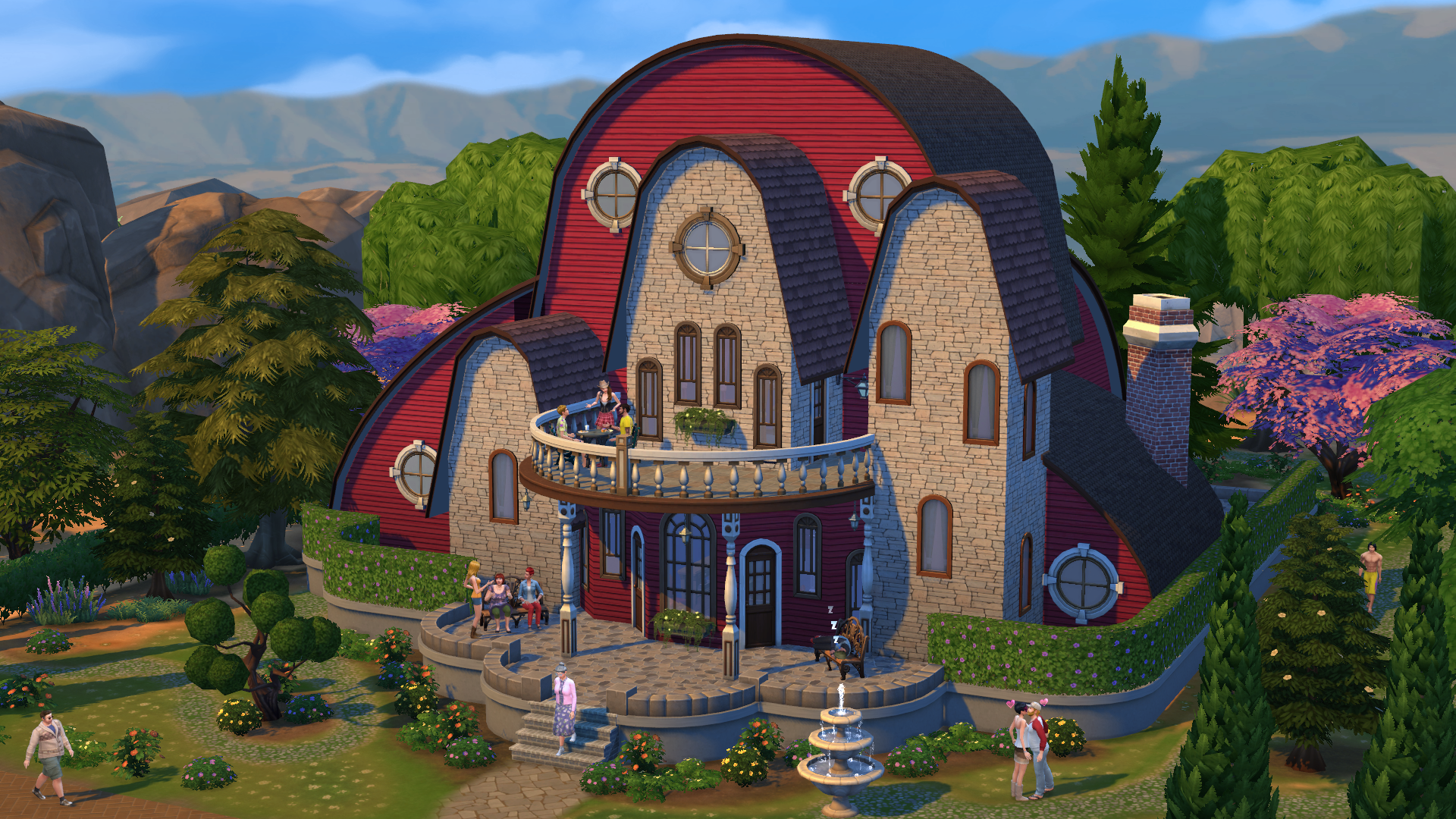 Sims Nine New Screenshots Simsvip