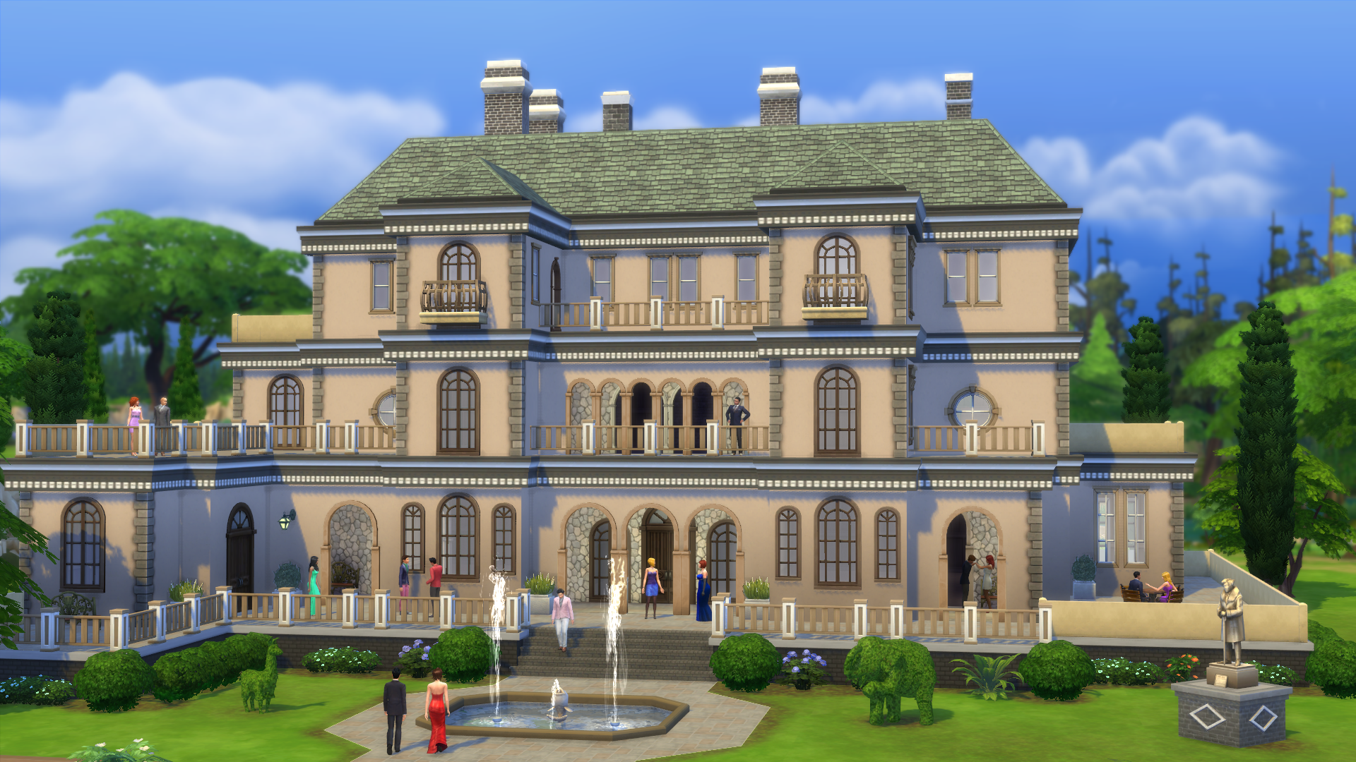 The sims 4 nine new screenshots simsvip for Sims 4 idee per la casa