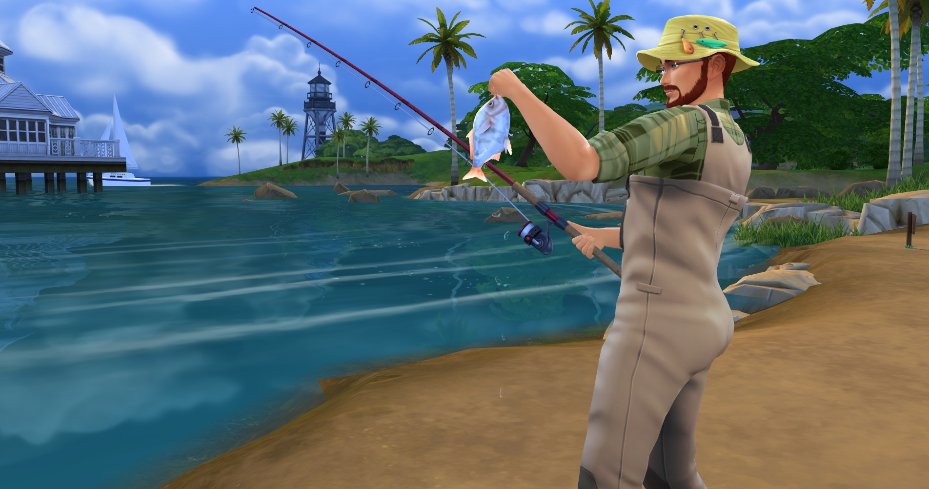 guide the sims 4 fishing skill fish list simsvip