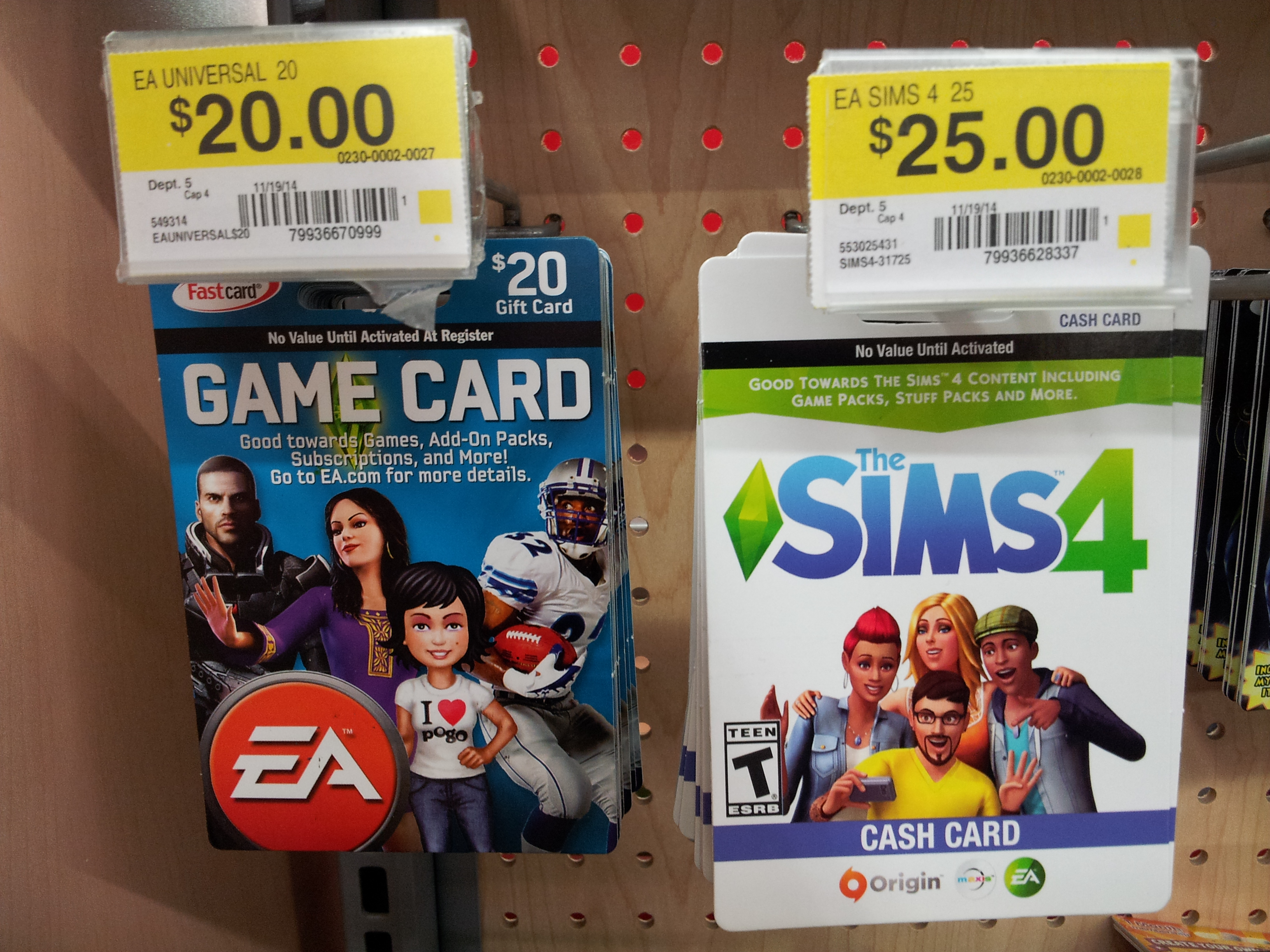 The Sims 4 Cash Card Now Available at Walmart | SimsVIP