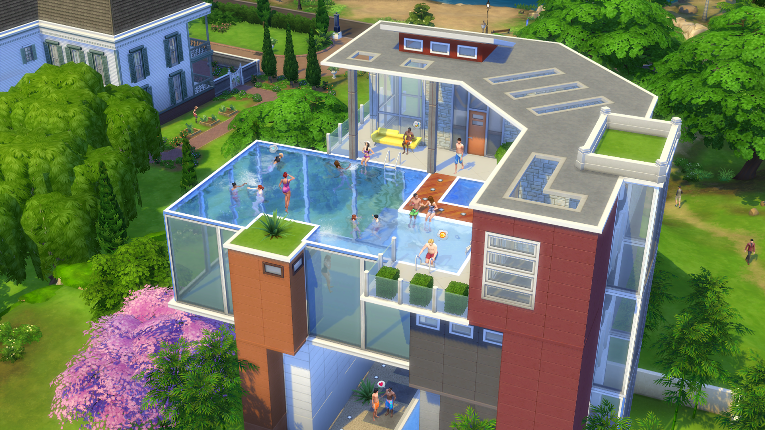 Everything there is to know about pools in the sims 4 for Pool design sims 4