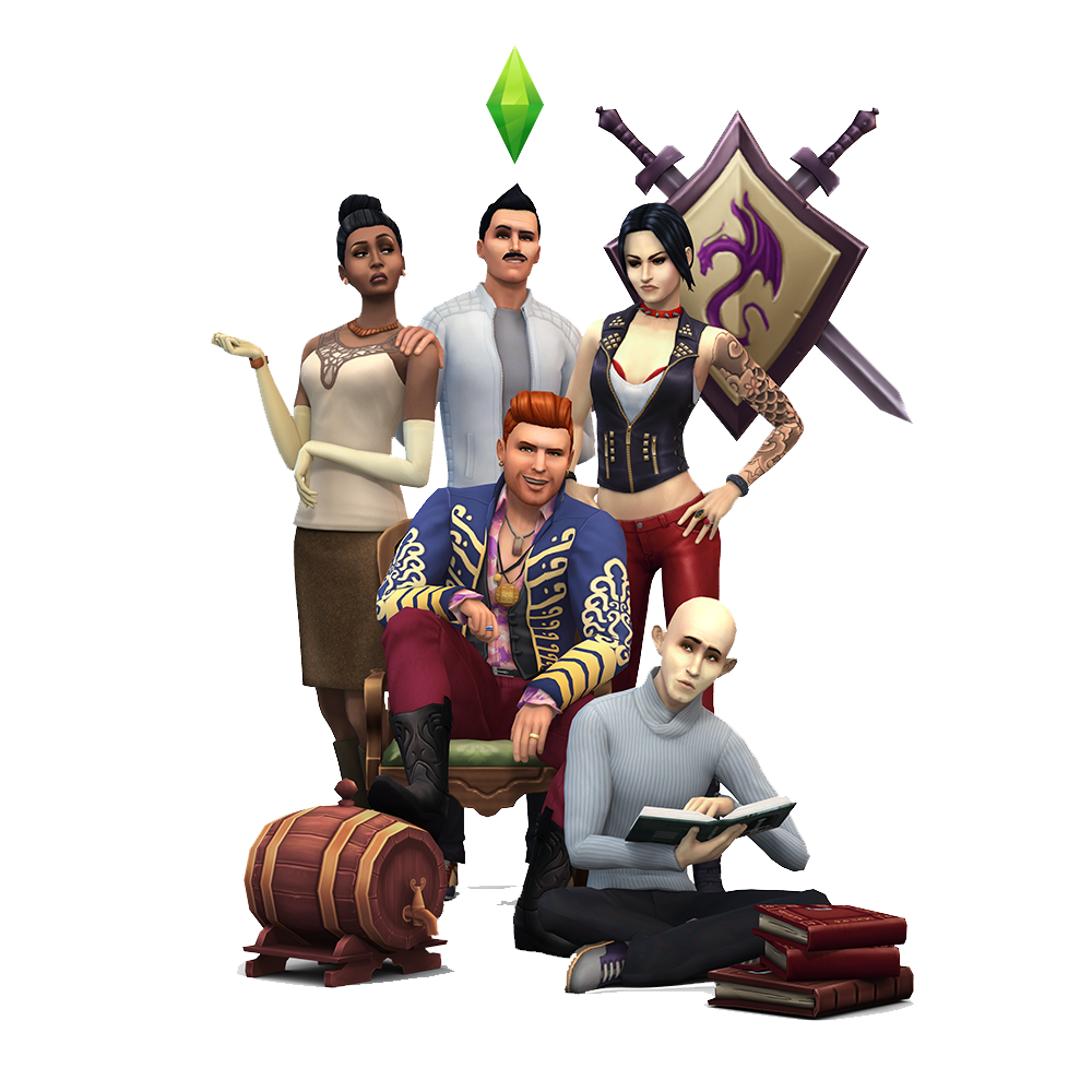 """family of 3 photo poses ideas - The Sims 4 """"Simquisition"""" Render"""