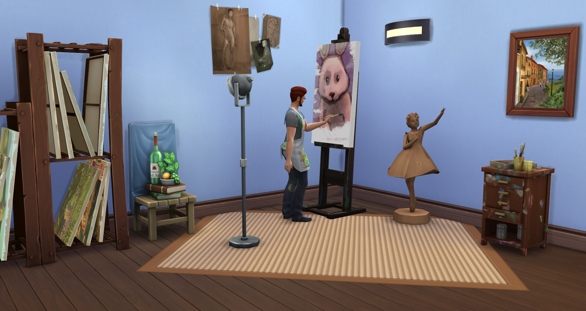 The Sims 4 Painter Career Guide Simsvip