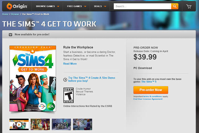 Sims 3 Install Order