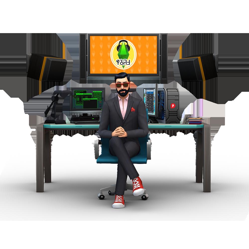 The Sims 4 Get To Work: Making Music, Simlish-style   SimsVIP