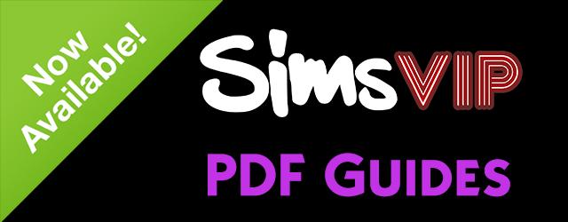 Sims 4 PDF Guides