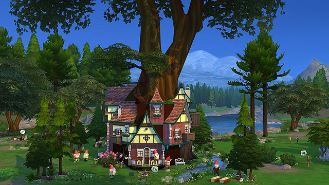 The sims4 10 awesome fan made houses to download simsvip for Awesome sims
