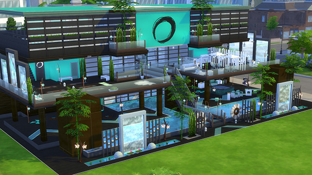 The sims4 10 awesome player made spas on the gallery - Awesome sims ...