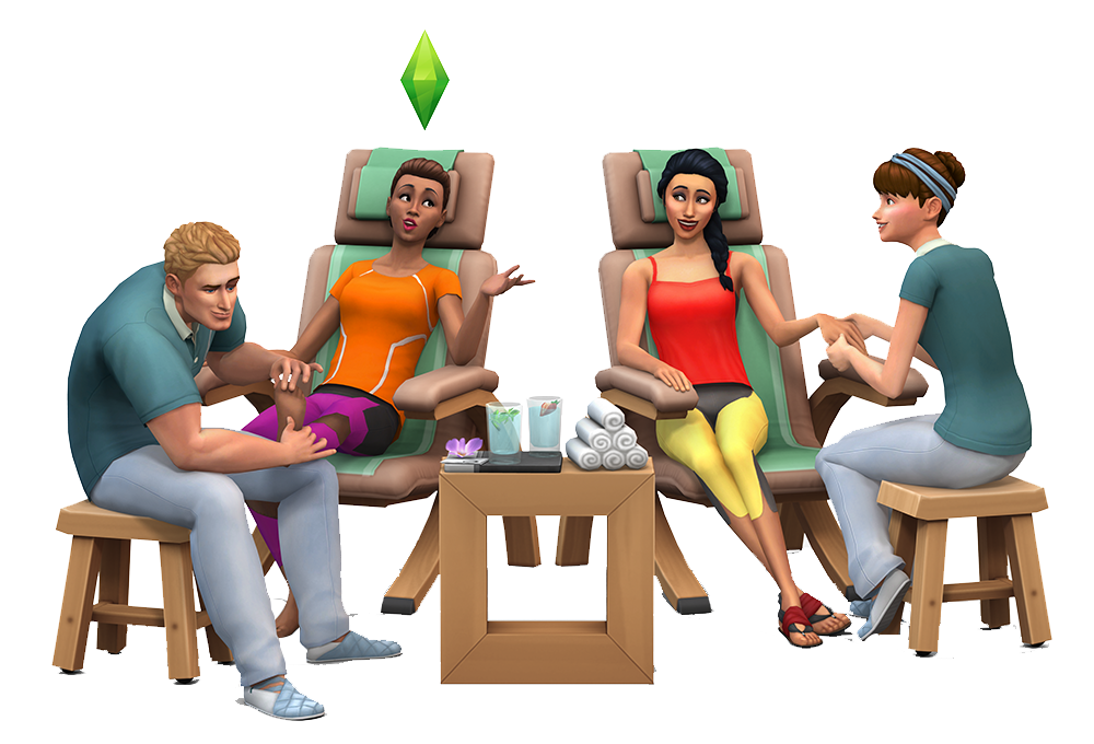 The Sims 4 Spa Day: Yoga, Meditation, Incense & More