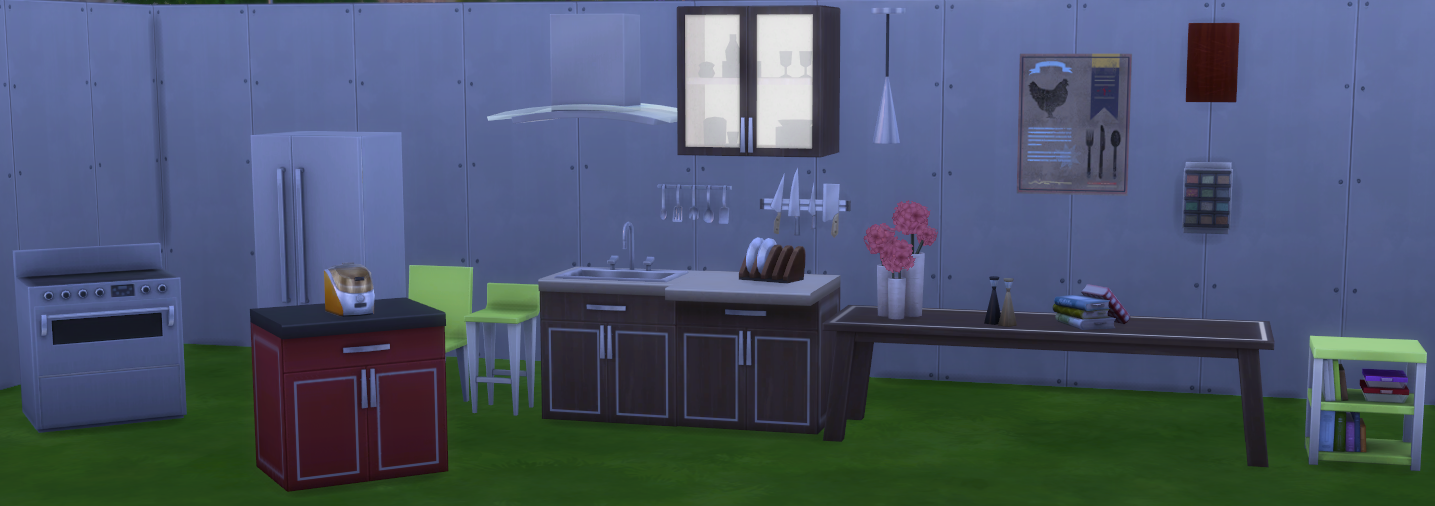 Simtimes Previews The Sims 4 Cool Kitchen Stuff Simsvip