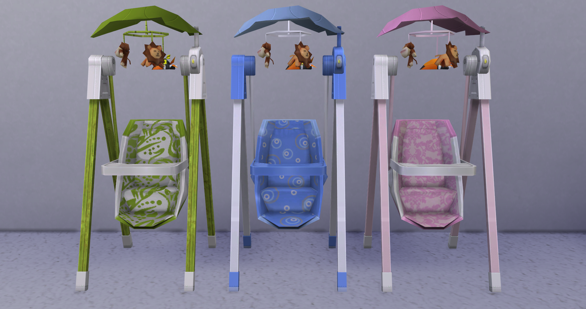 Custom Showcase Nooboo Nursery Simsvip