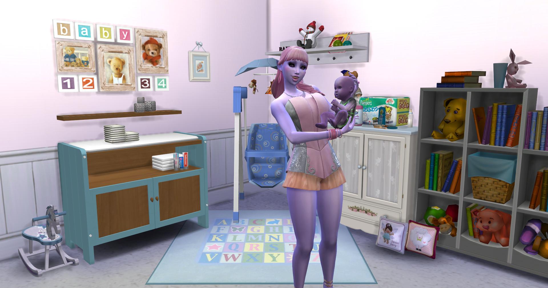 Custom Showcase: Nooboo Nursery   SimsVIP