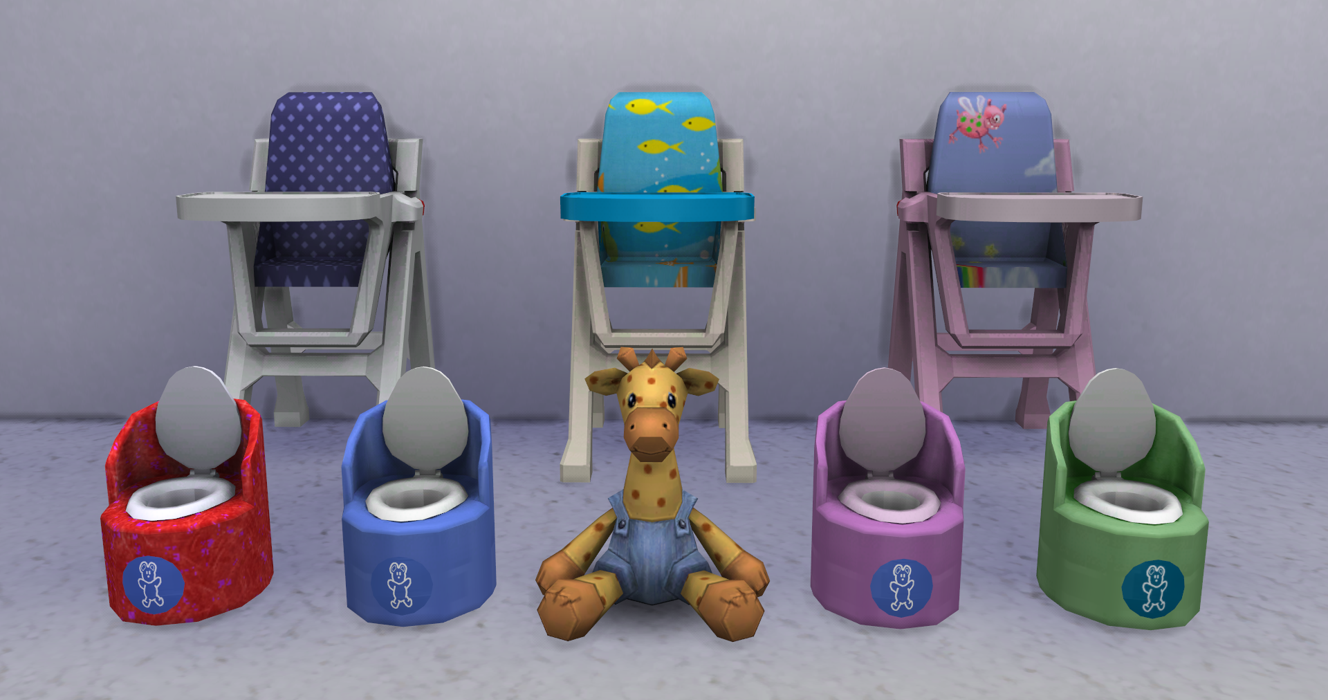 High chairs amp potties geoffrey the giraffe snugabunny deluxe baby