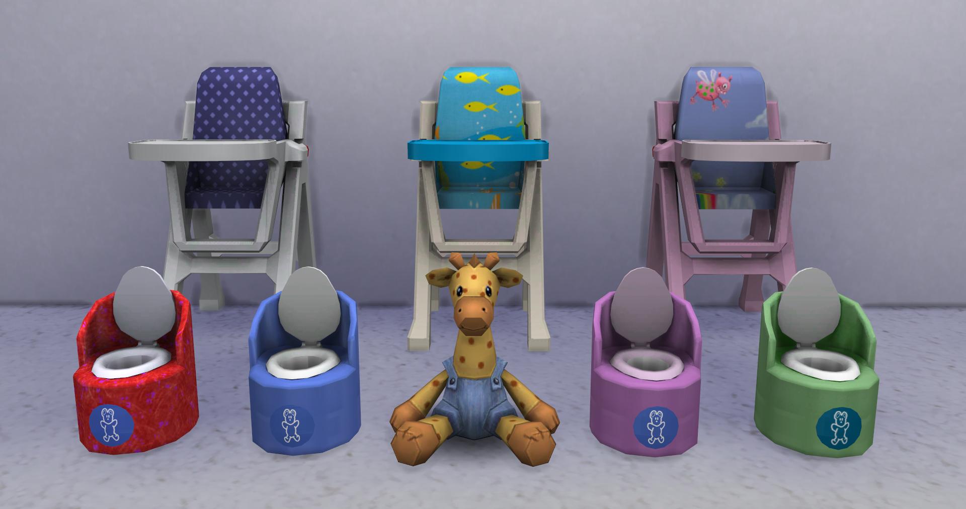 Custom Showcase Nooboo Nursery Simsvip
