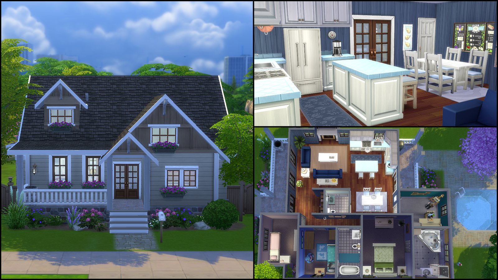 Sims 4 Family House Plans Arts