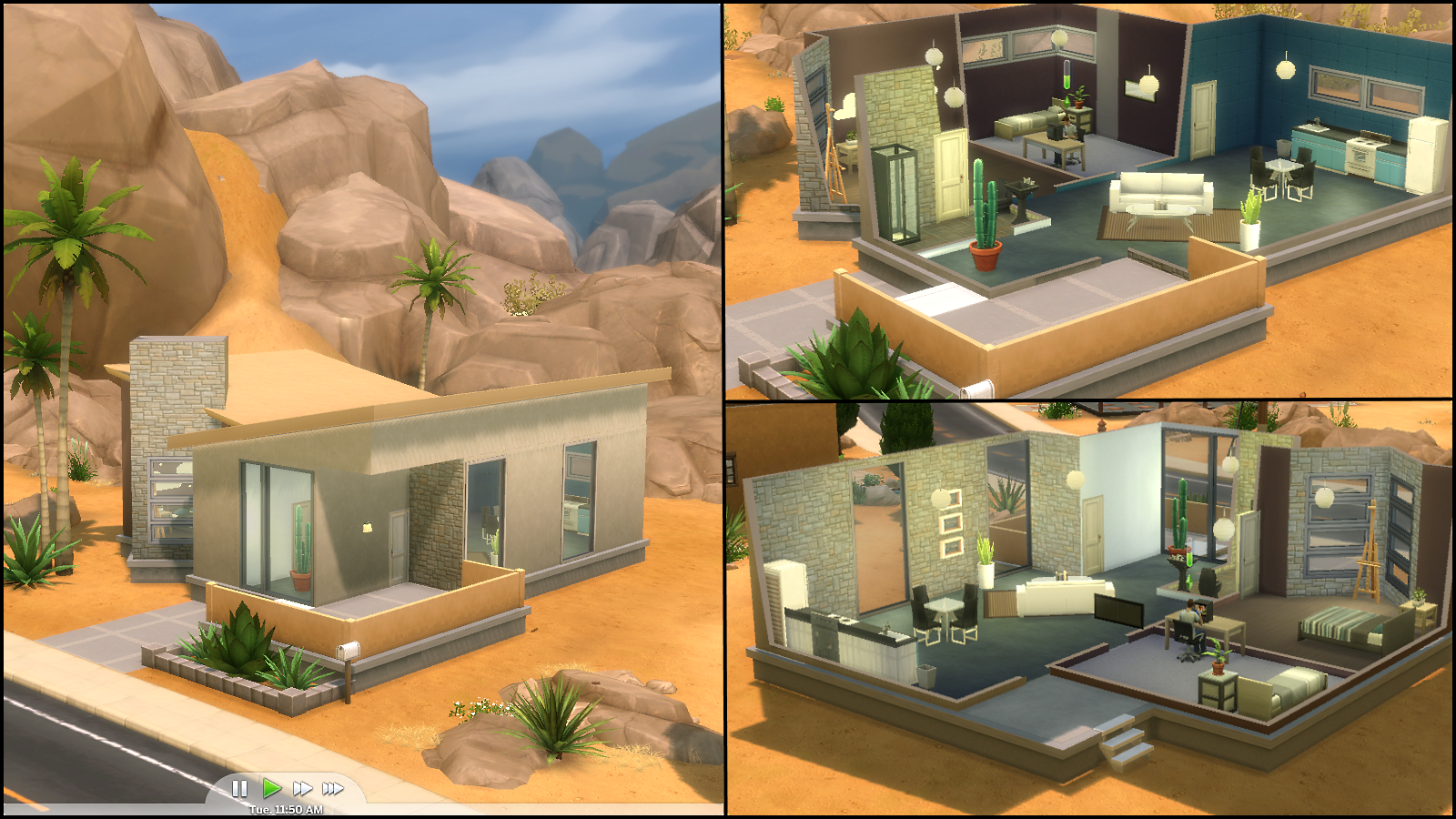 The sims 4 gallery spotlight simsvip for Desert style house plans