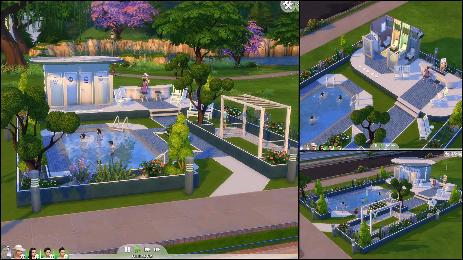 The sims 4 gallery spotlight simsvip for Pool design sims 3