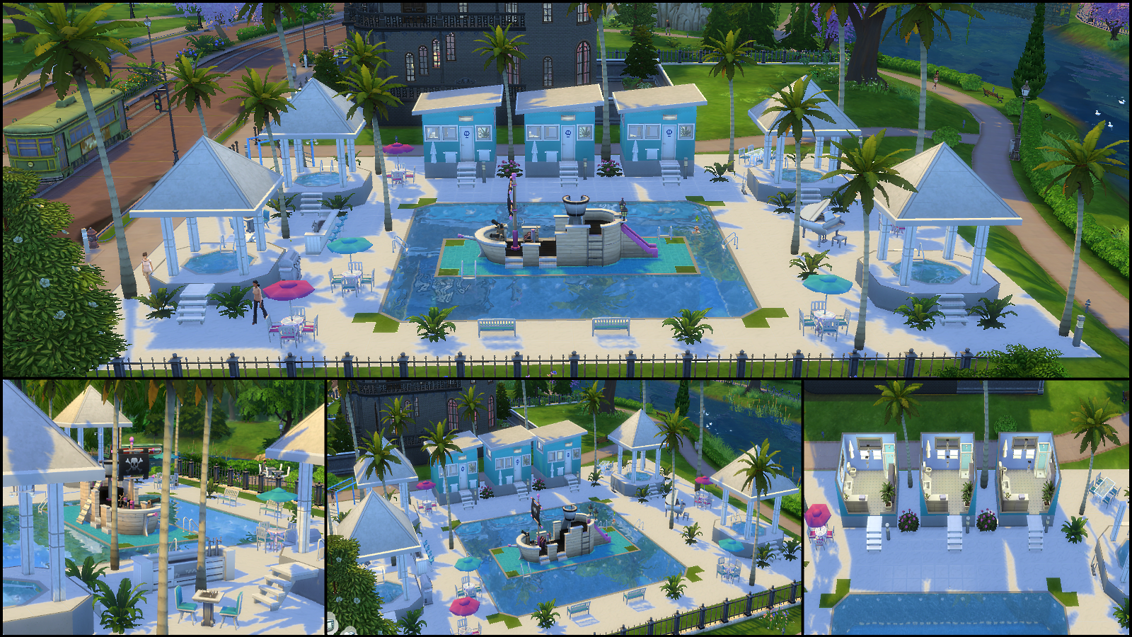 The sims 4 gallery spotlight simsvip for Pool design sims 4