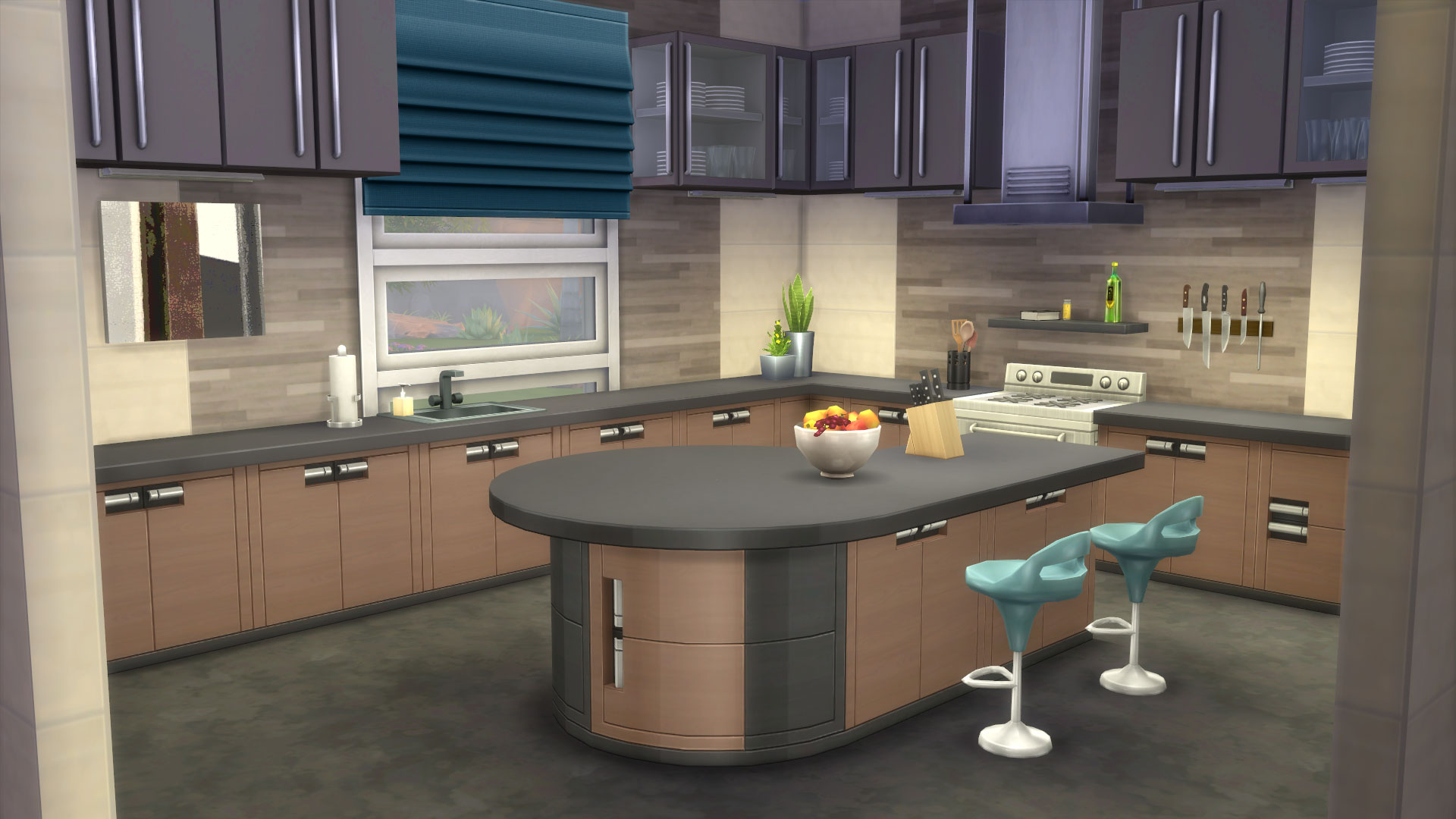 The sims 4 community blog ruthless kk on amazing kitchens for Sims 4 kitchen designs