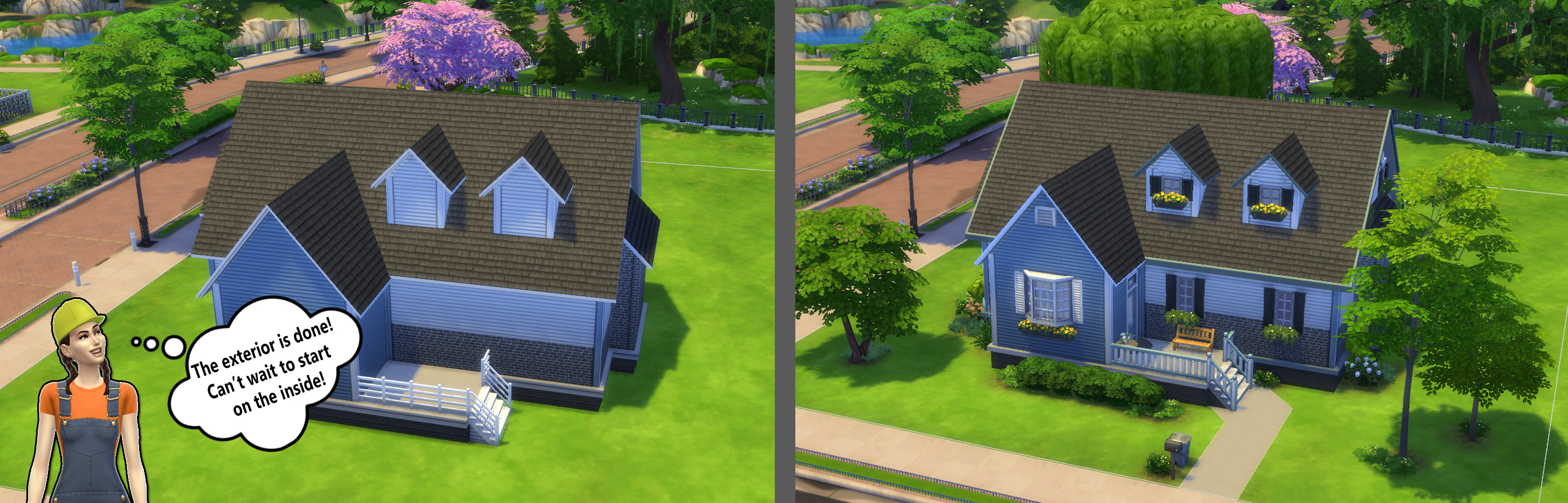 Building for beginners in the sims 4 landscaping plantart1 sisterspd