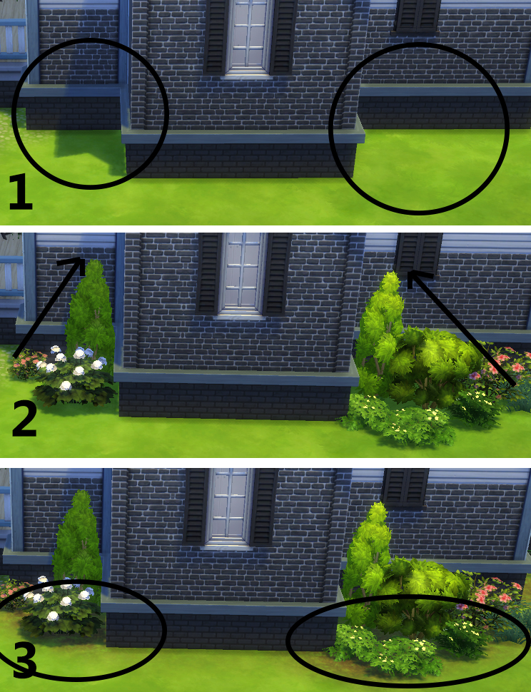 Building for beginners in the sims 4 landscaping for Indoor gardening sims 4