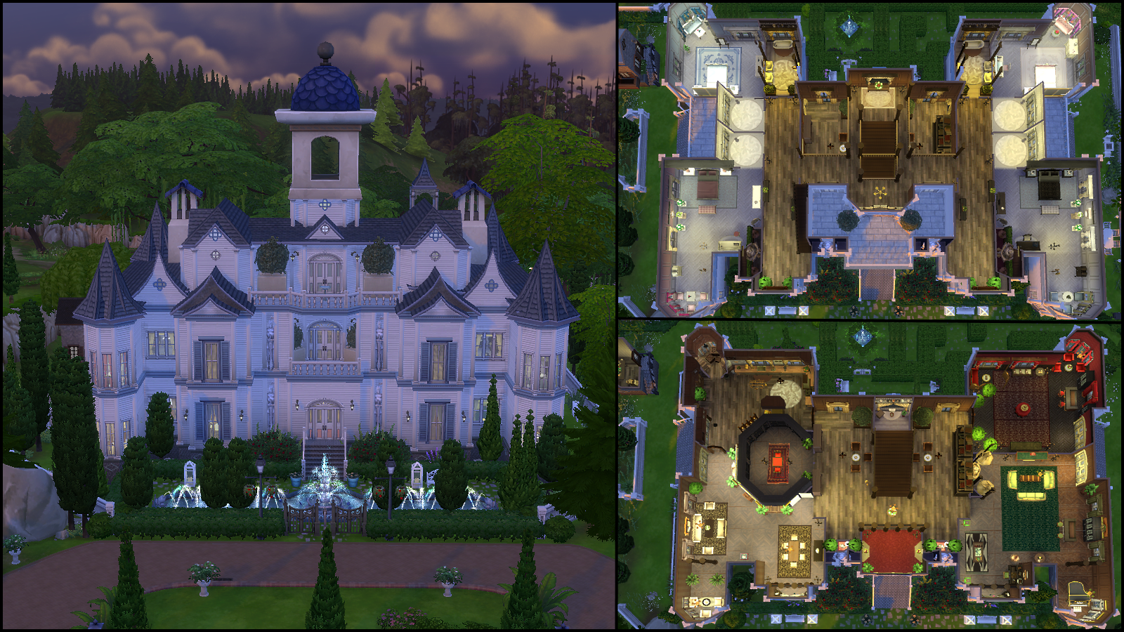 The Mansion of Secrets by OvejaNegraSimmer   945 097. The Sims 4 Gallery Spotlight   SimsVIP