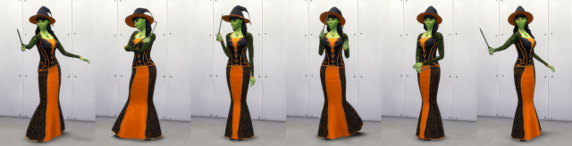 Witch Poses