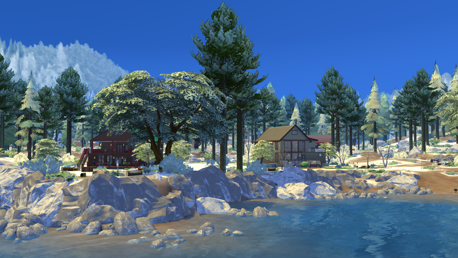 now available first snow mod by simcookie preview showcase