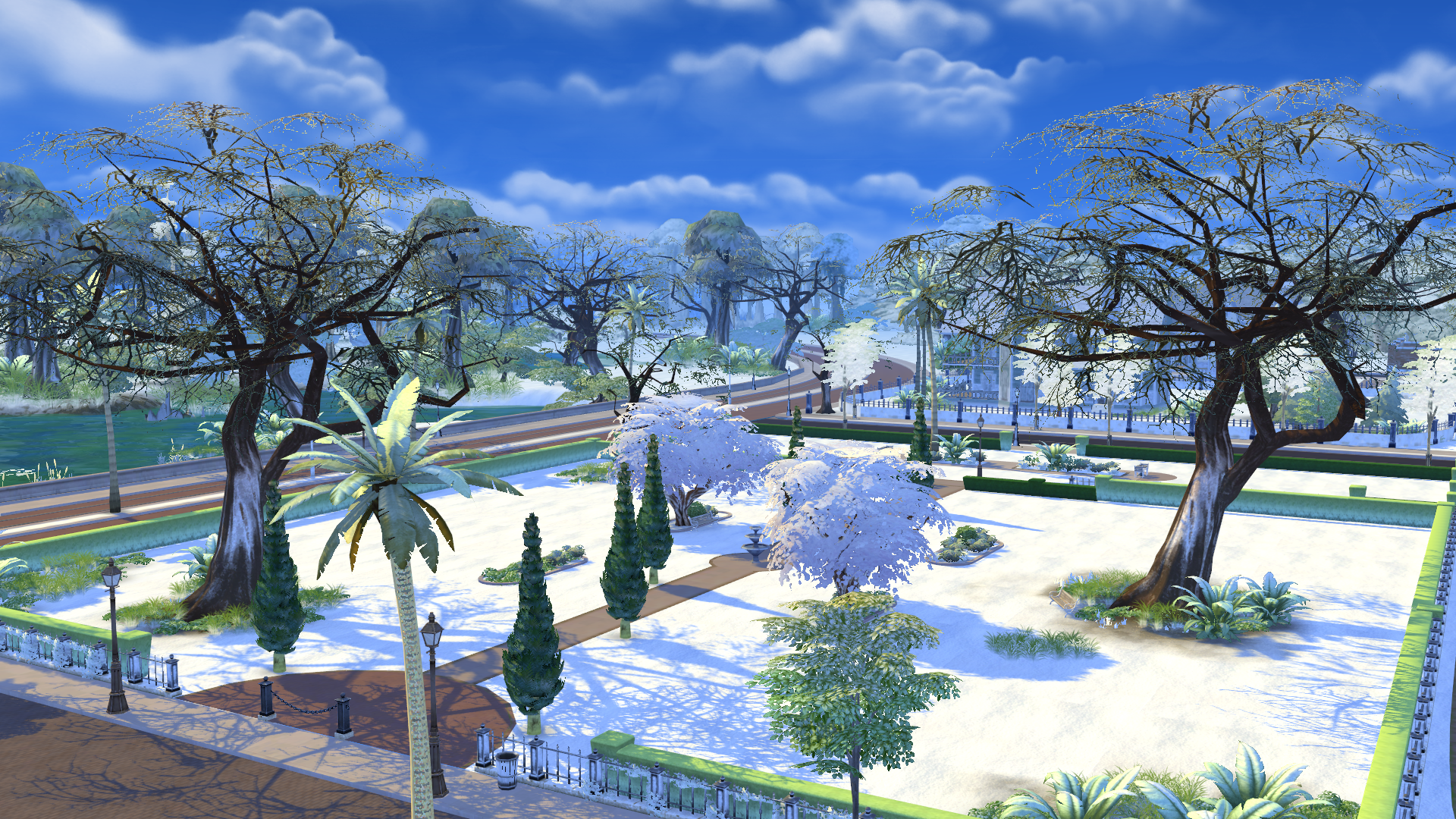 new mod sims 4 first snow