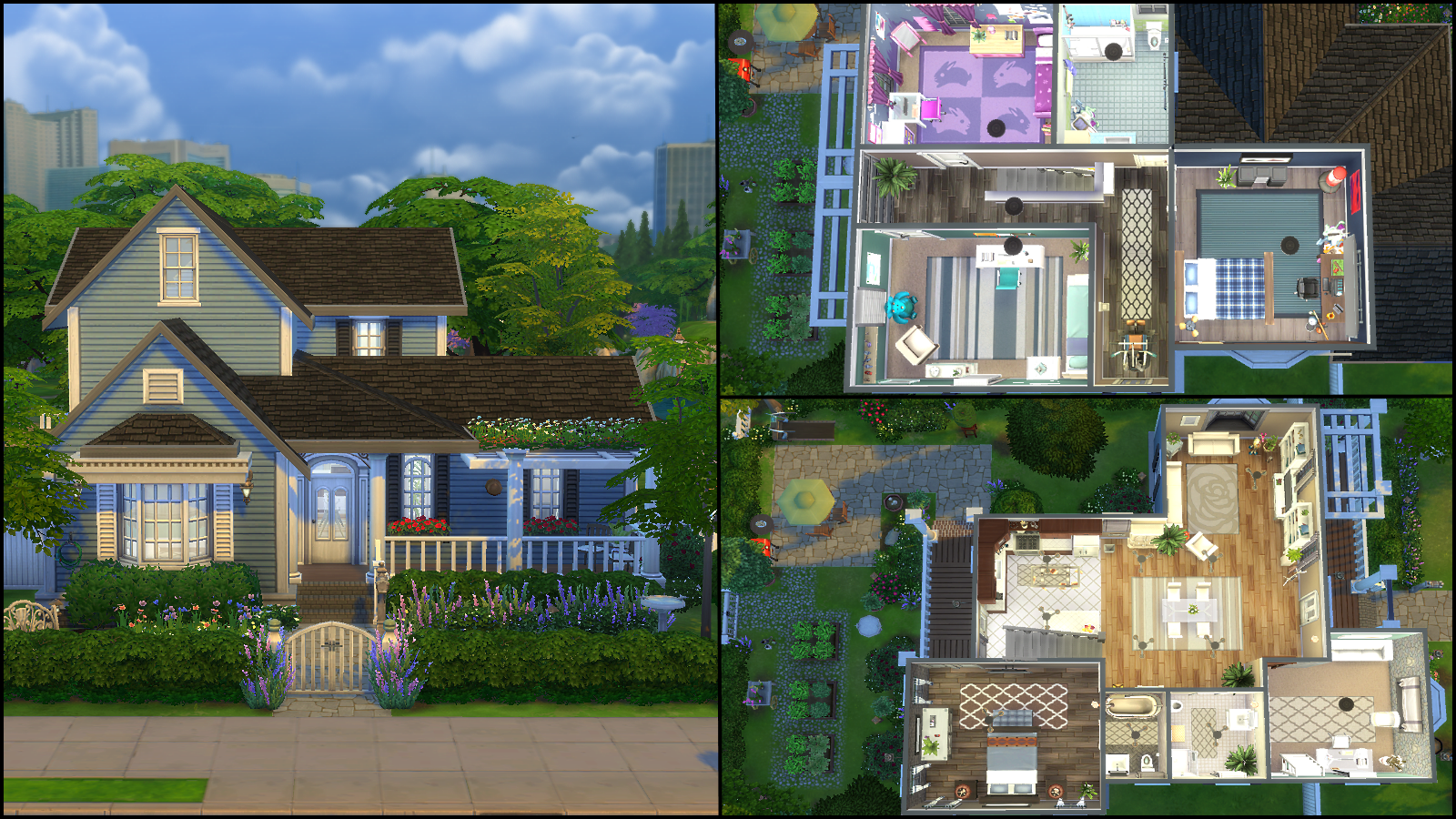 The sims 4 gallery spotlight simsvip for Sims 4 exterior design
