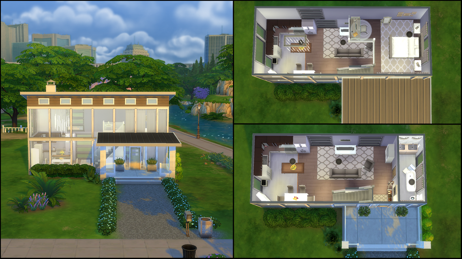 2 modern tiny home by dcsmith052414 51715 - Sims 4 Home Design 2