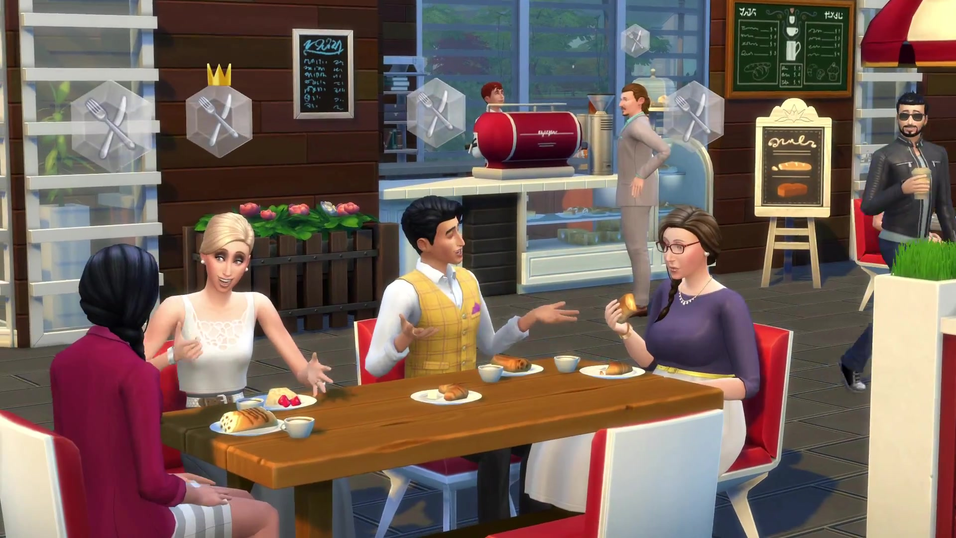 how to get sims in sims 4
