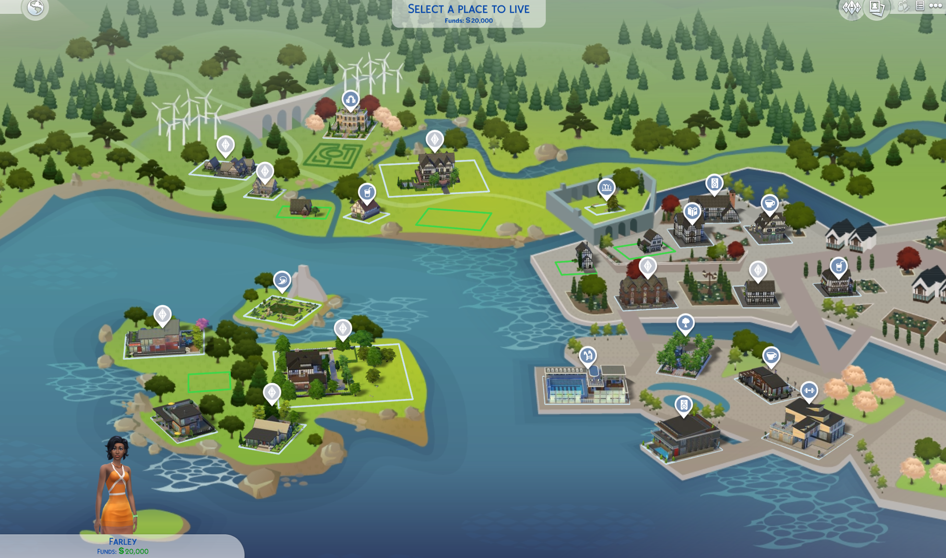 The Sims 4: Colored World Maps Coming Soon | SimsVIP