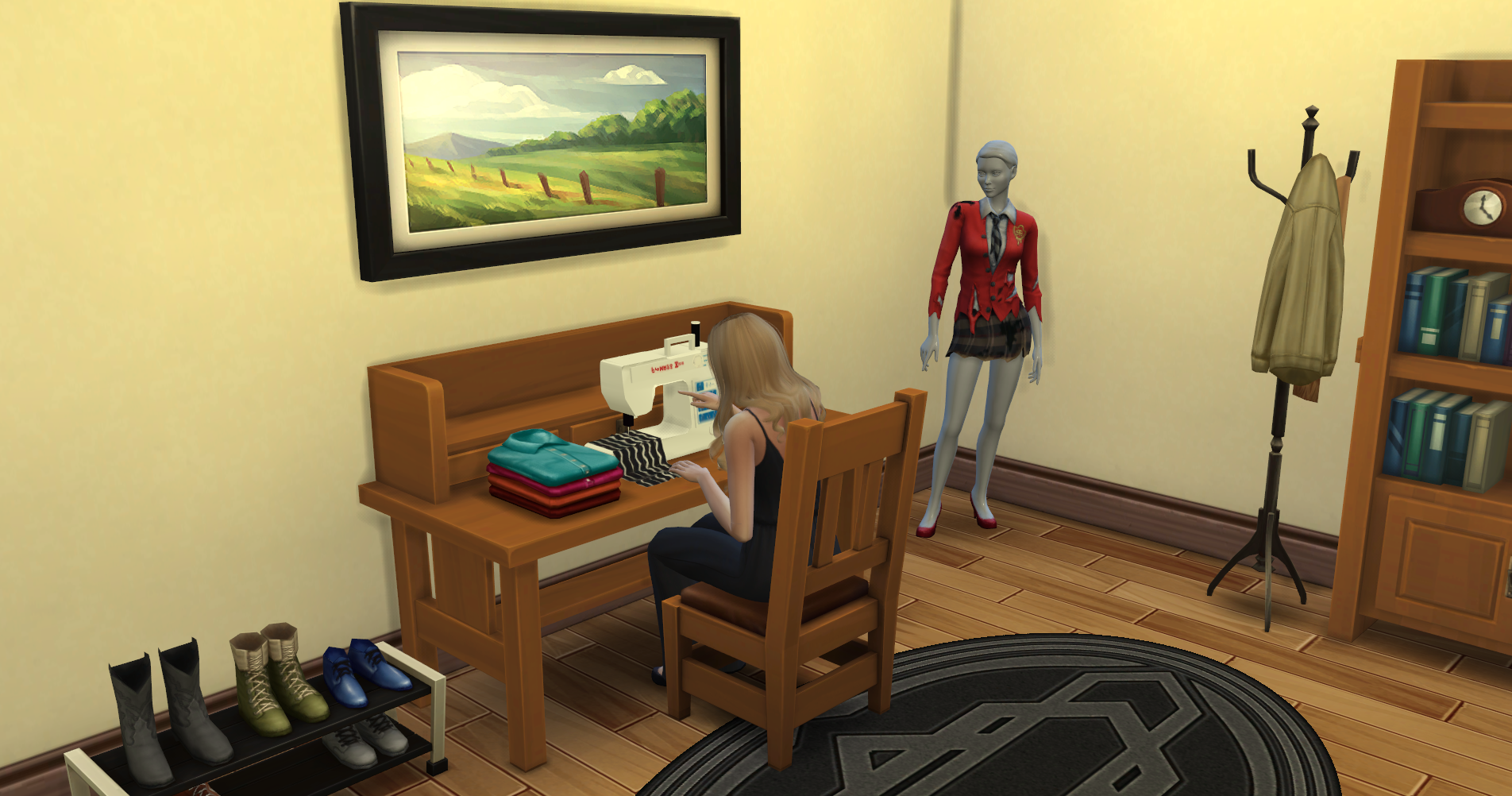 sims 3 cc furniture. The Sims 4: Functional Sewing Machine, Snow Effects, And More 3 Cc Furniture