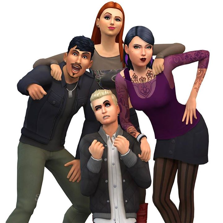 the sims 4 get together new render simsvip