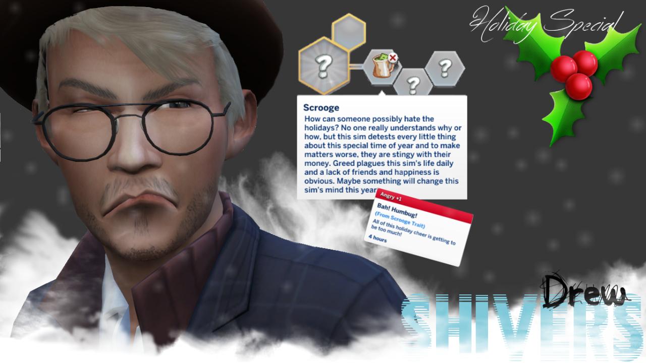 Custom Showcase: Meet Drew Shivers! | SimsVIP