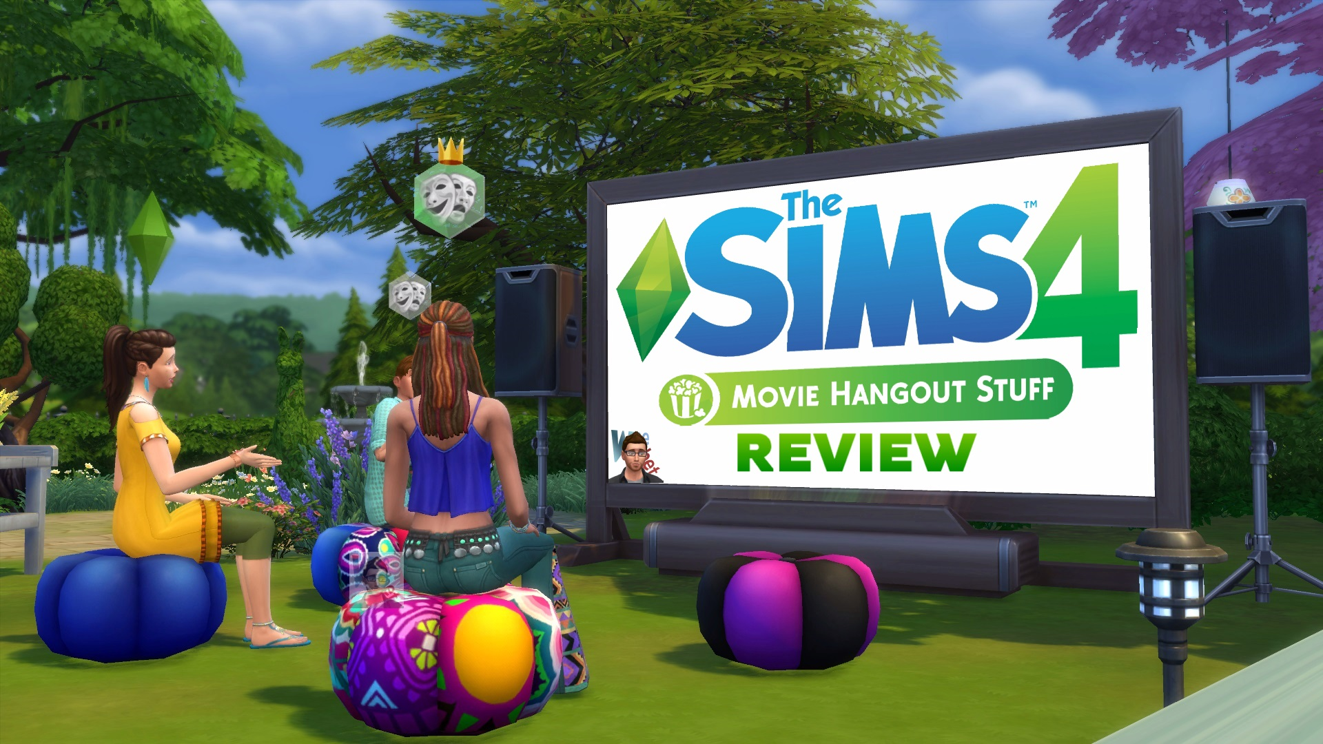 the sims 4 movie hangout stuff review simsvip