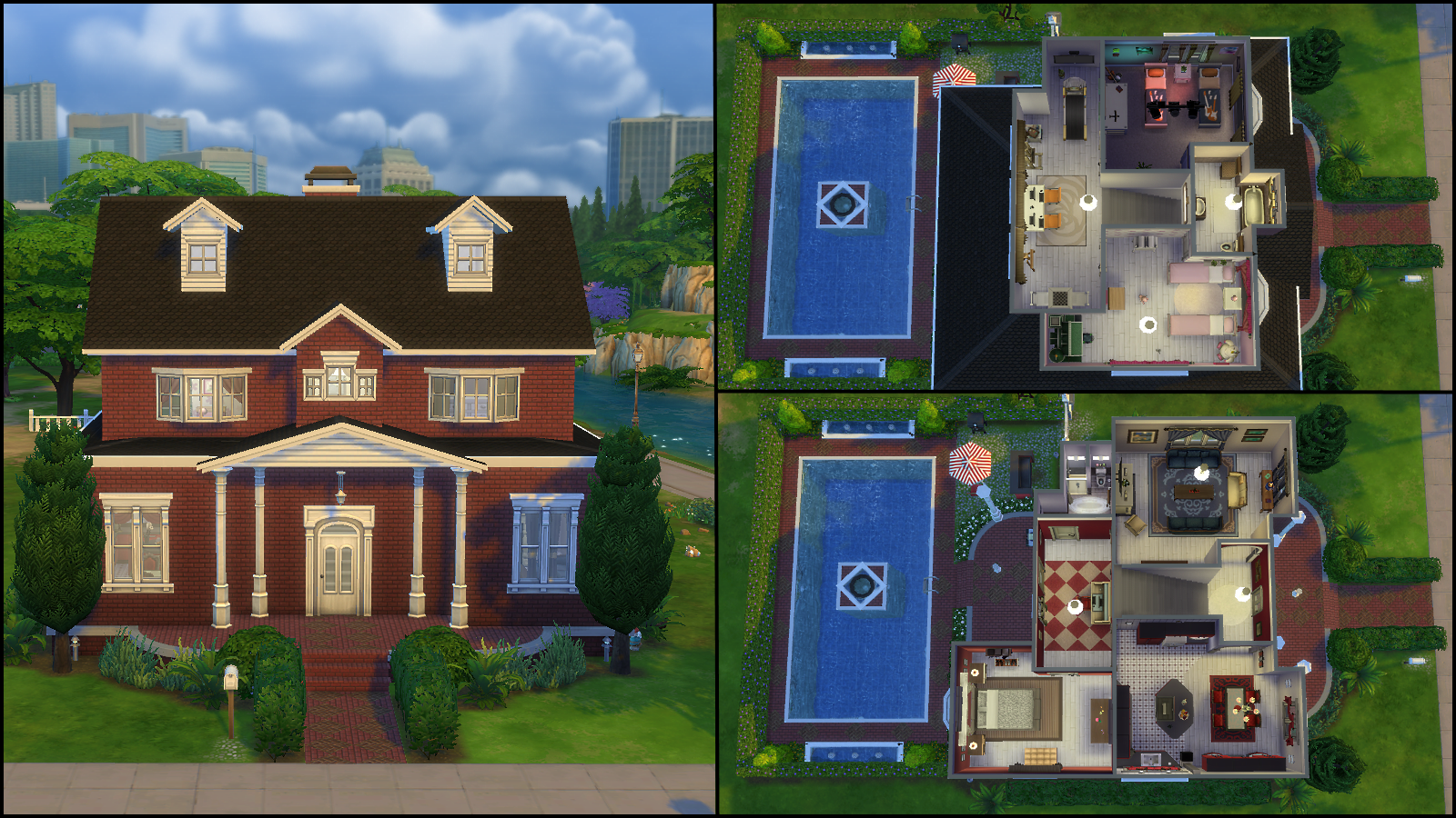 The Sims 4 Gallery Spotlight SimsVIP : Rosehaven from simsvip.com size 1600 x 900 png 3302kB