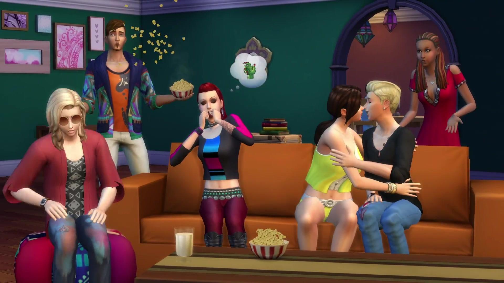 The Sims 4 Movie Hangout Info Bits By Simgurugraham Simsvip