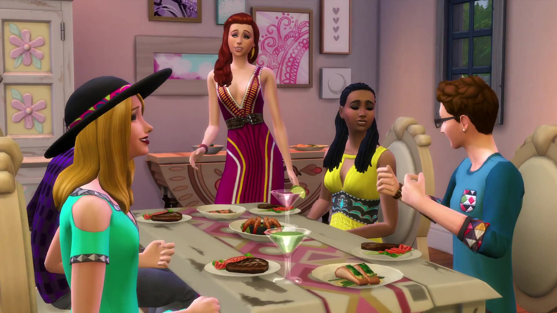 the sims 4 movie hangout stuff 45 trailer screens simsvip