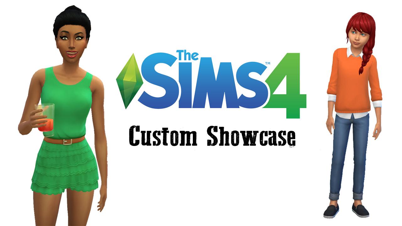 Sims 4 Cc Child Clothes Maxis Match | ANLIS