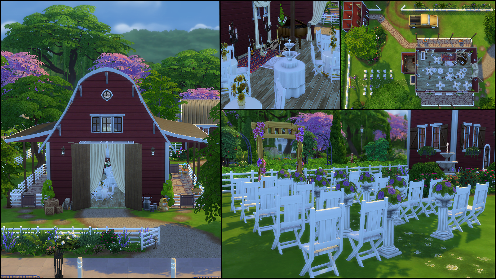 how to plan a wedding sims 4