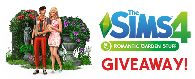 sims 4 giveaway simsvip giveaway win the sims 4 romantic garden stuff 9182